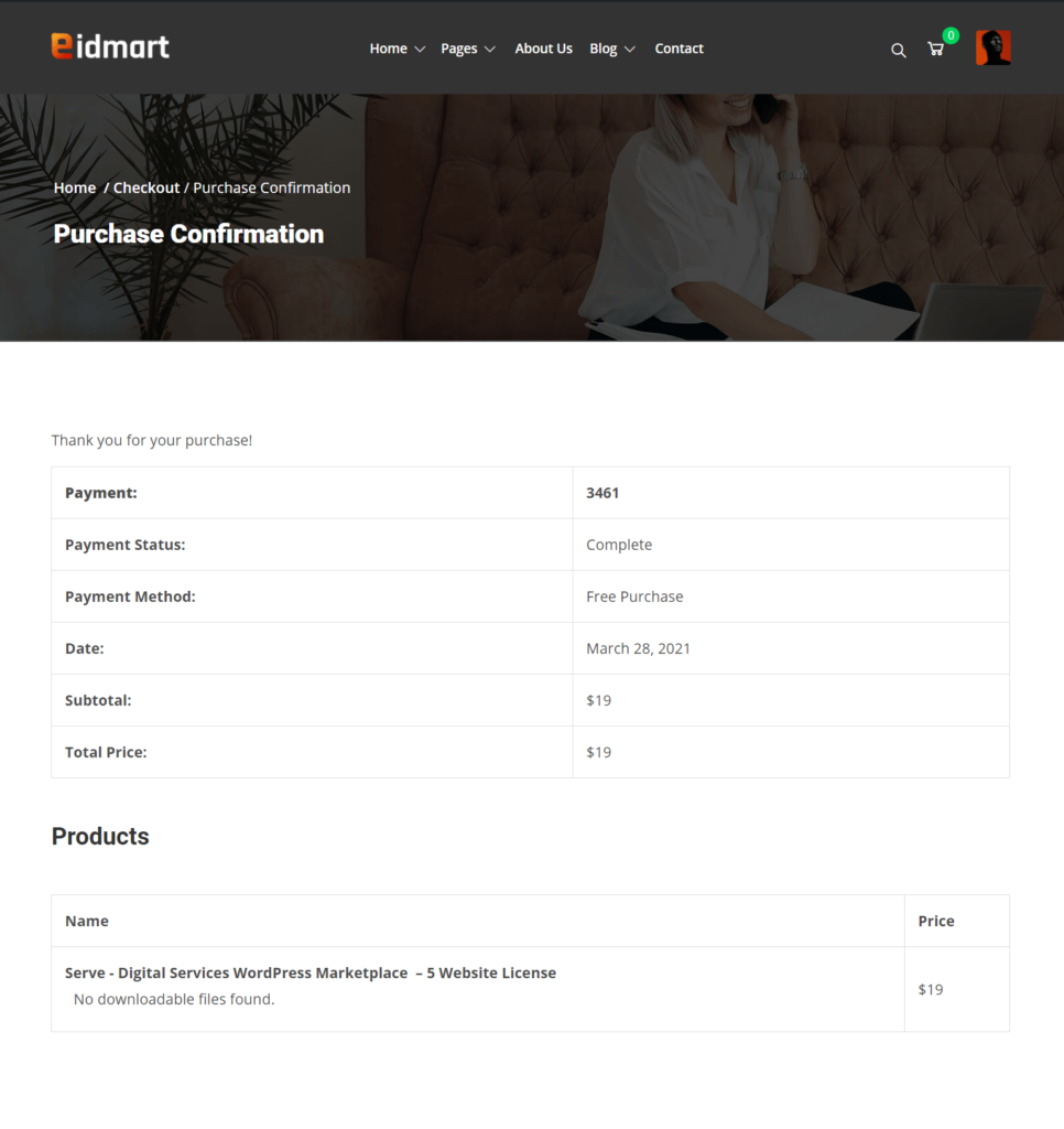 Customer Purchase Details